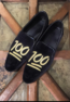 Classic bold as ever new footwear with hand embroidered detail(MAKE TO ORDER AVAILABLE)